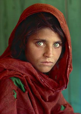Portret Afganki